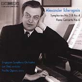 Tcherepnin: Symphonies no 3 & 4, etc / Shui, Ogawa, et al