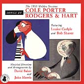Louise Carlyle: Songs by Cole Porter and Rodgers & Hart: The 1953 Walden Sessions