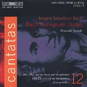 Bach: Cantatas Vol 12 / Suzuki, Bach Collegium Japan