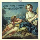 Telemann: Concerts & Suites 1734 / Camerata K&#246;ln