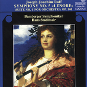 Raff: Symphony no 5, Suite no 1 / Stadlmair, Bamberg SO