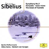 Eloquence - Sibelius: Symphony no 2, etc / Karajan, Berlin