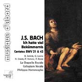 Bach: Ich hatte viel Bek&uuml;mmernis, etc /Herreweghe, Collegium