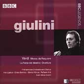 Giulini- Verdi: Requiem, etc / Giulini, Bumbry, K&oacute;nya, et al