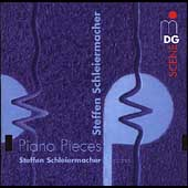 SCENE  Schleiermacher: Piano Pieces / Schleiermacher