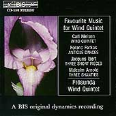 Favourite Music for Wind Quintet / Frösunda Wind Quintet