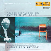 Bruckner: Symphony no 3 / Tennstedt, Bavarian Radio SO