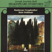 Raff: Shakespeare Overtures / Stadlmair, Bamberg SO