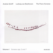 Beethoven: The Piano Sonatas Vol 1 / András Schiff