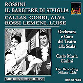 Rossini: Il barbiere di Siviglia / Giulini, Callas, et al