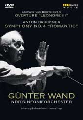 Bruckner: Symphony No. 4, Beethoven / Gunter Wand, NDR SO [DVD]