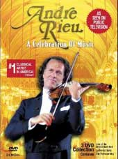 Andre Rieu / Celebration Of Music - Slip Case [3 DVD]