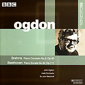 BBC Legends - Brahms: Piano Concerto no 2, etc / Ogdon