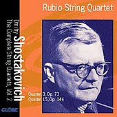 Shostakovich: Complete String Quartets Vol 2 / Rubio Quartet