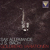 Bach: Goldberg Variationen / Sax Allemande
