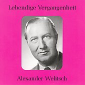 Lebendige Vergangenheit - Alexander Welitsch