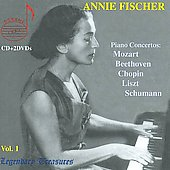 Legendary Treasures - Annie Fischer Vol 1 - Beethoven, Chopin, Liszt, Mozart