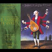 Gioachino Rossini: Il Barbier di Siviglia / Gabriele Santini, Luigi Alva, Sesto Bruscatini, Carlo Badioli