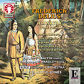 Delius: Hiawatha, Double concerto, etc / Philippe Graffin, Sarah-Jane Bradley, et al