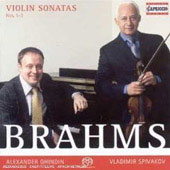 Brahms: Violin Sonatas, no 1-3 / Vladimir Spivakov