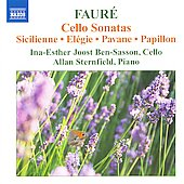 Gabriel Faure: Cello Sonatas
