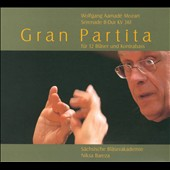 Mozart: Gran Partita / Saxonian Winds