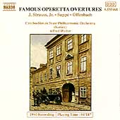 Famous Operetta Overtures - J. Strauss Jr., Supp&eacute;, Offenbach