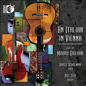 Italian in Vienna: Duos by Mauro Giuliani / Louise Schulaman, viola, Bill Zito, guitar