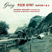 Grieg: Peer Gynt Suites 1 & 2 / George Weldon - London SO