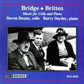 Bridge, Britten: Music for Cello & Piano / Doane, Snyder