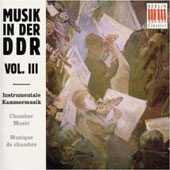 Musik in der D.D.R. Vol III - Chamber Music