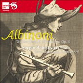 Albinoni: Trattenimenti da camera, Op. 6 / Sergio Balestracci, flute; Silvia Rambaldi, harpsichord