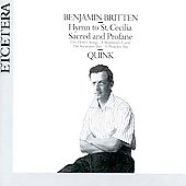 Britten: Holy Songs / Quink Vocal Ensemble