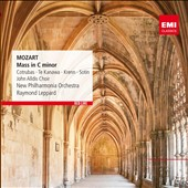 Mozart: Mass in C minor / Kiri Te Kanawa, Ileana Cotrubas, Werner Krenn and Hans Sotin. Leppard