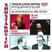 Shostakovich: Violin Concertos 1 & 2 / Mordkovitch, J&auml;rvi