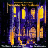 Helmut Duffe, Emanuel Vogt: Windsbacher Psalmen II - Pieces for a men's choir