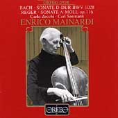 Bach: Sonate D-Dur BWV 1028;  Reger / Mainardi, et al
