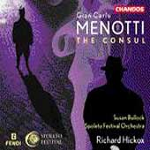 Menotti: The Consul / Hickox, Bullock, Spoleto Festival