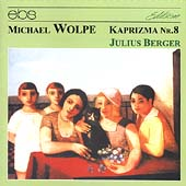 M. Wolpe: Kaprizma no 8 / Julius Berger, Jerusalem Quartet