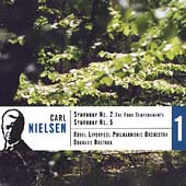 Nielsen: Symphonies no 2 & 5 / Bostock, Royal Liverpool PO