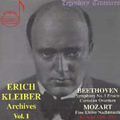 Legendary Treasures - Erich Kleiber Archives Vol 1