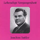 Lebendige Vergangenheit - Joachim Sattler