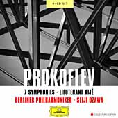 Prokofiev: 7 Symphonies, Lt. Kij&#233; / Ozawa, Schmidt, Berlin