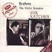 Brahms: Violin Sonatas / Josef Suk, Julius Katchen