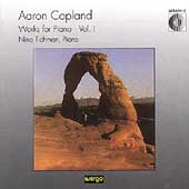 Copland: Works for Piano Vol 1 / Nina Tichman