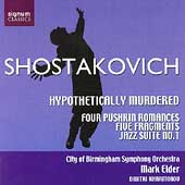 Shostakovich: Hypothetically Murdered, etc / Elder, et a