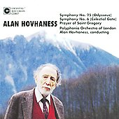 Hovhaness: Symphonies no 25 & 6, Prayer of St Gregory