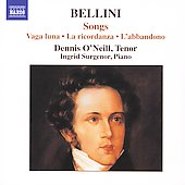 Bellini: Songs / O'Neill, Surgenor