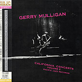 Gerry Mulligan: California Concerts, Vol. 2