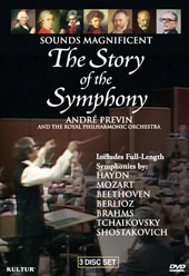 The Story of the Symphony / André Previn/Royal PO [3 DVD]